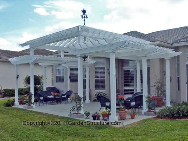 Example Of Pergola On Patio: Http://www.gardenstructure.com/