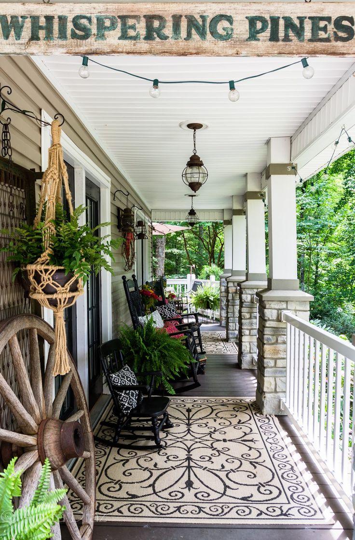 103 best Front porch decorating images on Pinterest | Porch ...