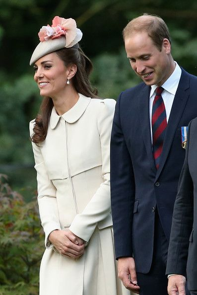 Kate Middleton Photos - British Royals Visit the St Symphorien Military Cemetery - Zimbio