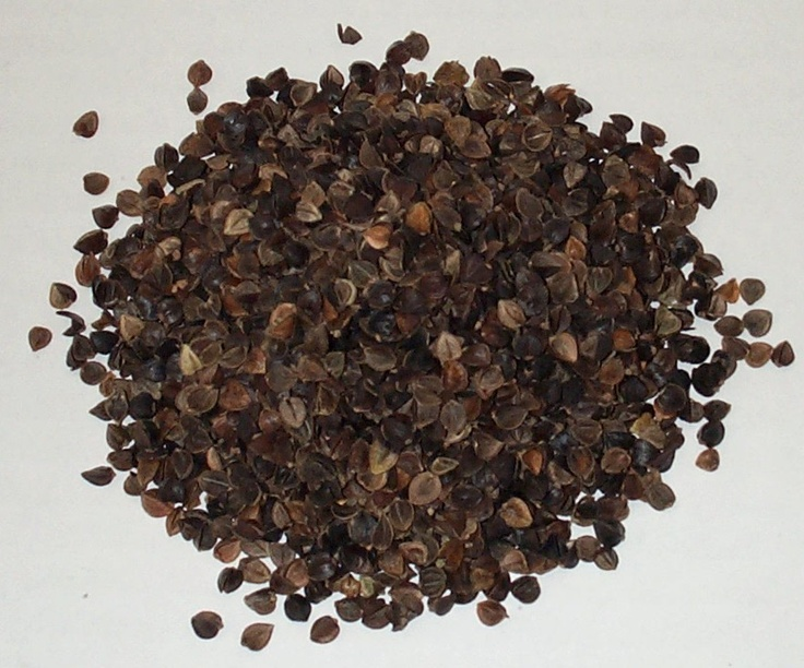 Buckwheat hulls for pillows, whole buckwheat seeds for heating pads.