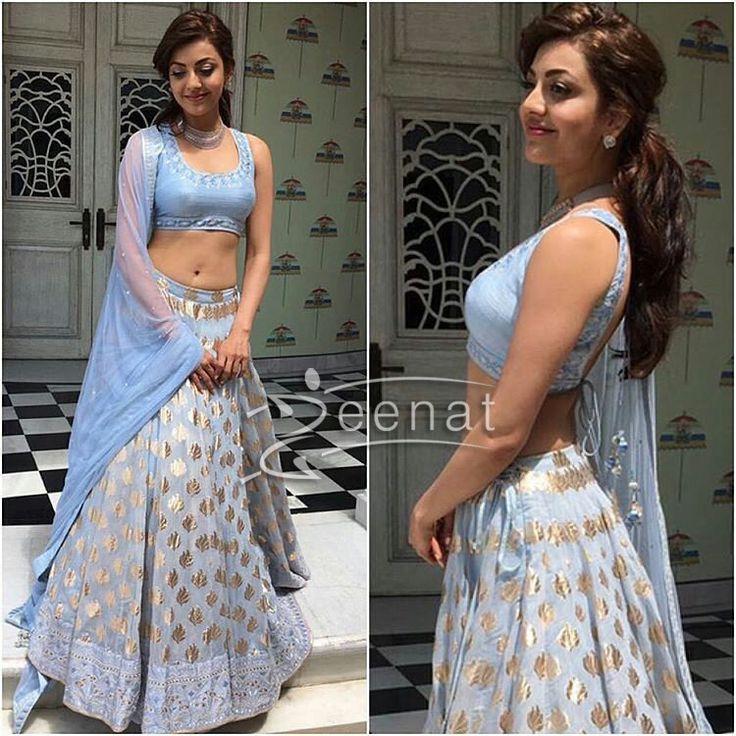 Kajal Agarwal Lehenga Choli Styles 2016