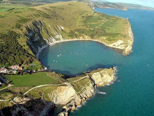 Lulworth Cove, Dorset, UK.