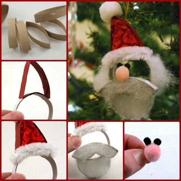 Las 25 mejores ideas sobre adornos navide os hechos a mano - Adornos de navidad hechos a mano por ninos ...