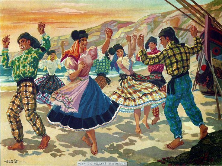 Etnografia em imagens: Danças Populares e Tradicionais Portuguesas (2)