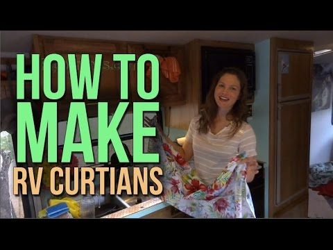 RV Renovations: Replacing RV Curtains with Custom-made Curtains