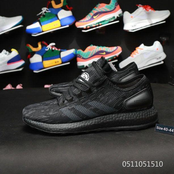 add104de6314 Adidas Pure Boost Wish Sneakerboy Jellyfish chinese year DOG black ...