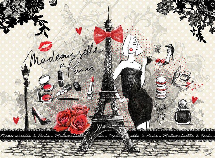 Lutheen - Paris - Fashion https://www.facebook.com/lutheen.illustration/