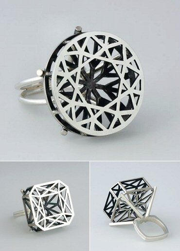 TheCarrotbox.com modern jewellery blog : obsessed with rings // feed your fingers!: Margaret Lim / La Objeteria