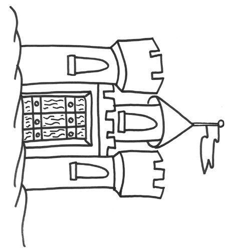 Dibujo de castillo