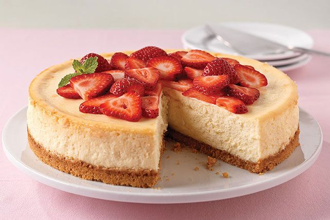 This is the real deal—everything you imagine a classic cheesecake recipe to be. Creamy, rich, and yummy!