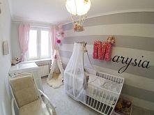 Zobacz zdjęcie Aranżacja pokoju dziecka zrobiona przez klienta sklepu mamaipapa pl łóżeczko komoda przewijak