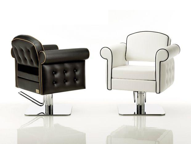 207 best luxury hair salon client images on pinterest for Luxury beauty salon furniture