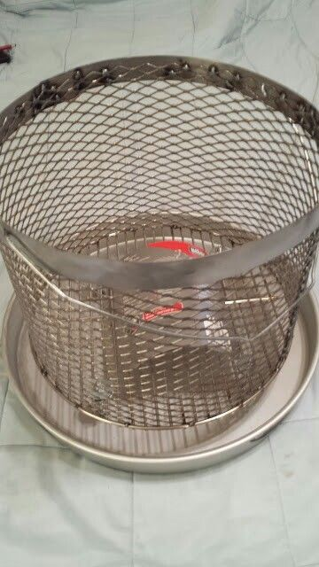 Charcoal basket for  UDS Ugly Drum Smoker.  I also rent ugly drum smokers and Santa Maria BBQ Grills. If you are interested in purchasing some ugly drum smoker parts contact me at javie4@roadrunner.com.