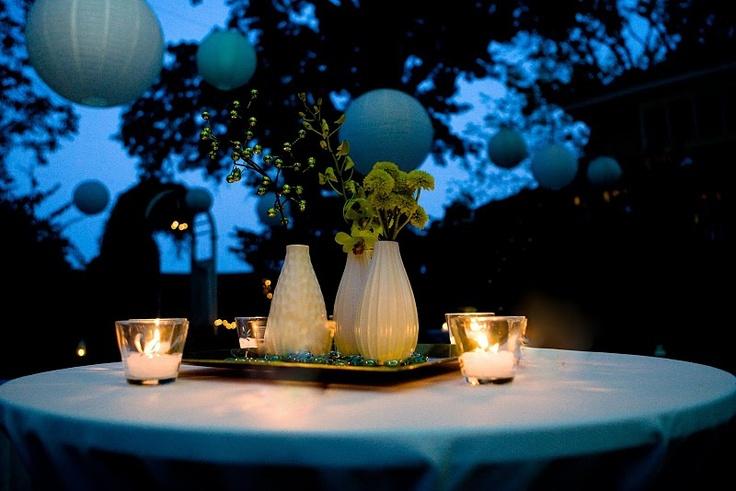 a late summer backyard wedding