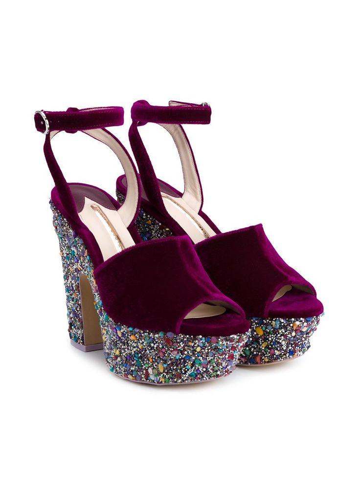 Shop Sophia Webster 'Havisham' platform sandals at Browns.
