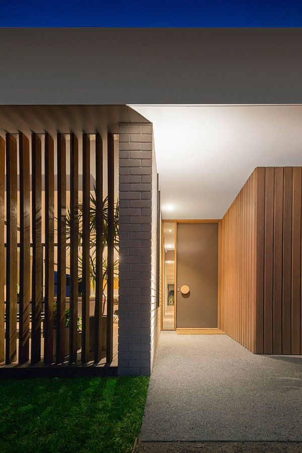 A Wood and Glass Holiday House in