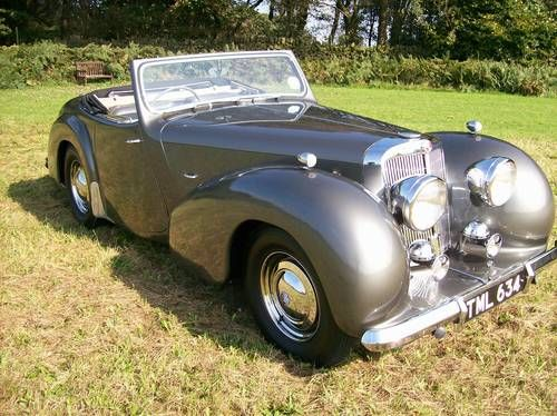 1948 Triumph 2000 Roadster