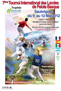 Pelote Passion: TOURNOI DE SAUBRIGUES