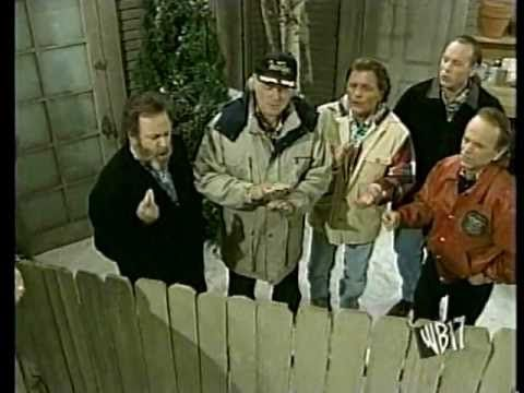 """Carl, Al, Bruce, Mike and Matt guest appear on Home Improvements.  Performances of Surfer Girl, Little Deuce Coupe and Barbara Ann.    Funny how no one joked that """"Hey Little Cobra"""" actually was Bruce in the Rip Chords!"""