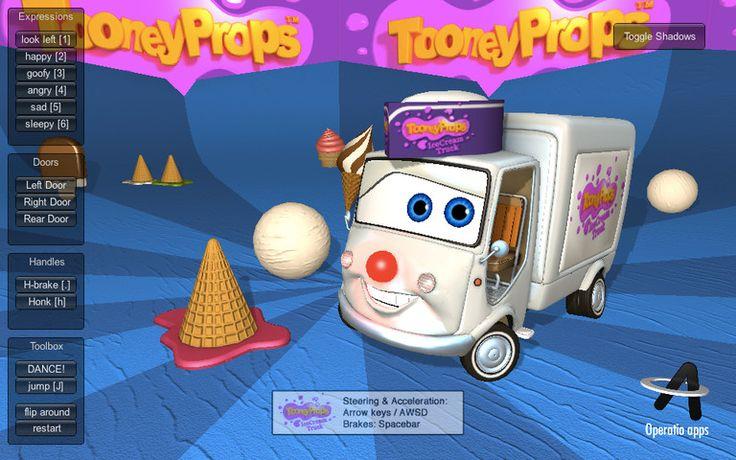 TooneyProps - IceCream Truck Character Kit
