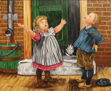 Ot en Sien, kinderboeken die spelen in Roden.