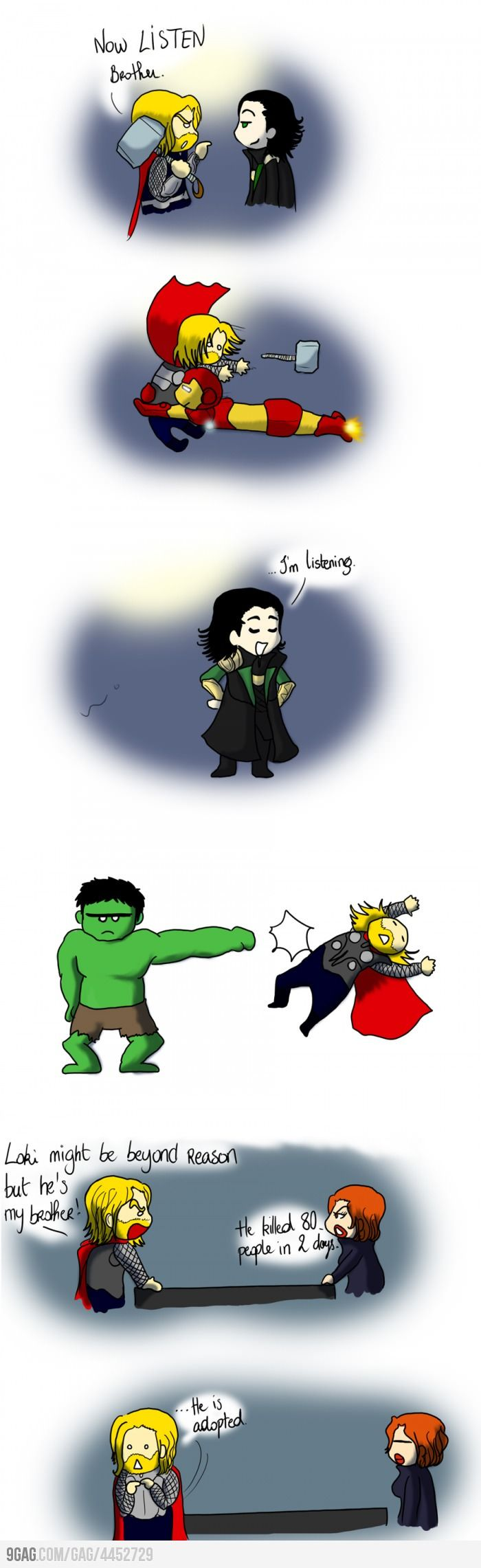 These little avengers cartoons will never get old.