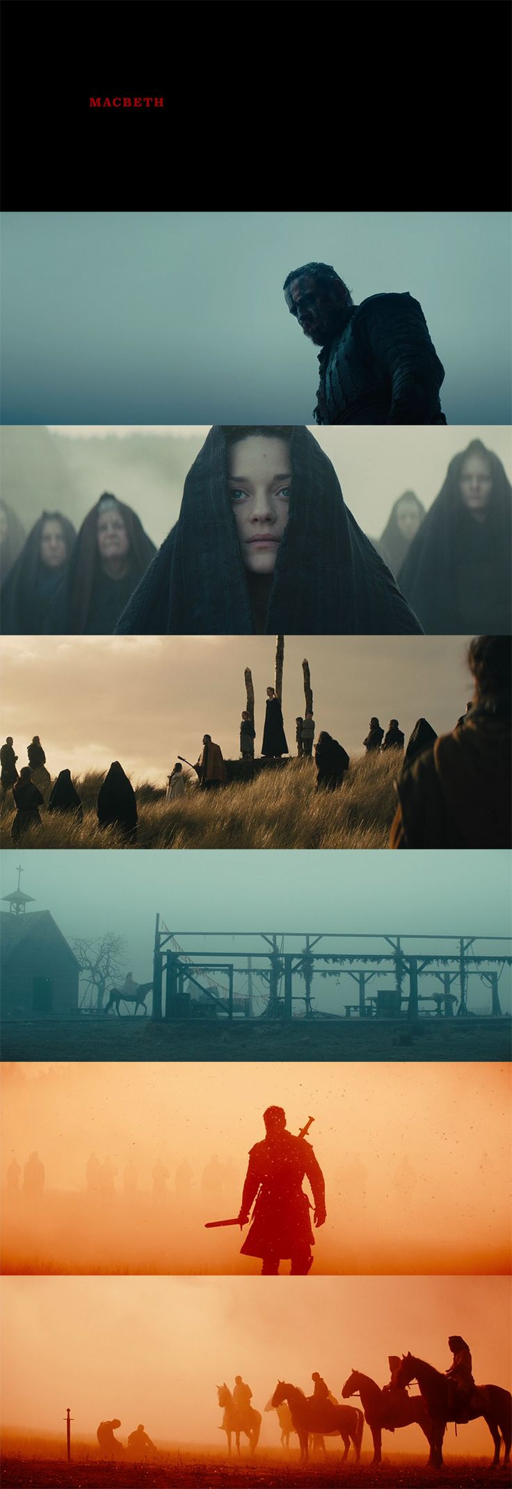 Macbeth (2015) - Cinematography by Adam Arkapaw | Directed by Justin Kurzel