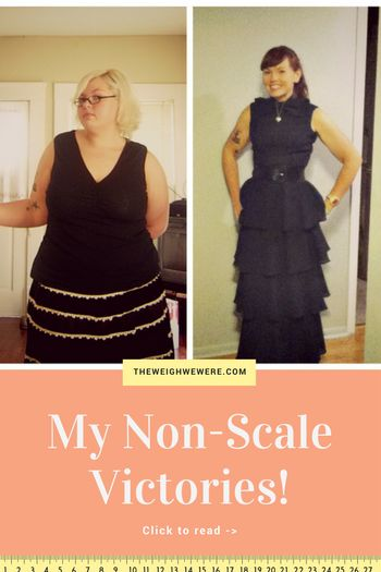 Read her non-scale victories and transformation success story! Before and after fitness motivation and beginner tips from women who hit their weight loss goals and got THAT BODY with training and meal prep. Learn their workout tips get inspiration! | TheWeighWeWere.com