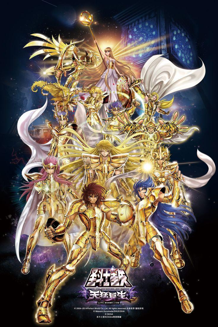Saint seiya gold saints