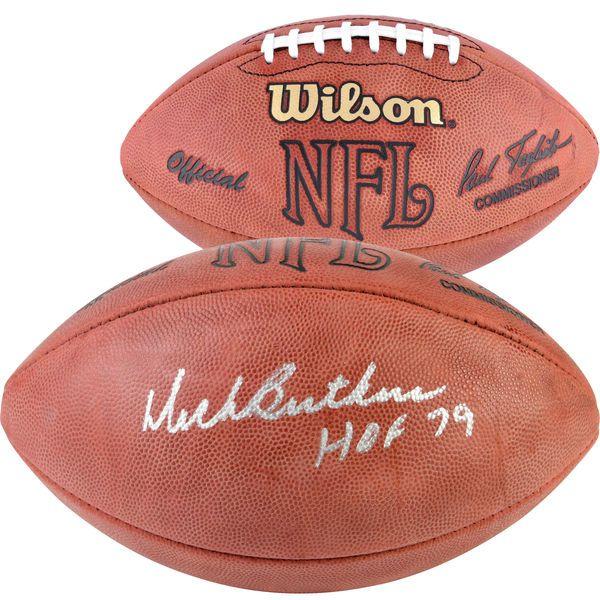 Dick Butkus Chicago Bears Fanatics Authentic Autographed NFL Duke Game Football with HOF 79 Inscription - $299.99