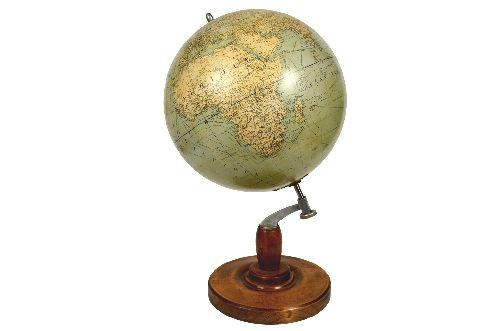 Globi-mappamondi antichi/4093-Globo Girard et Barrere/Click per aprire