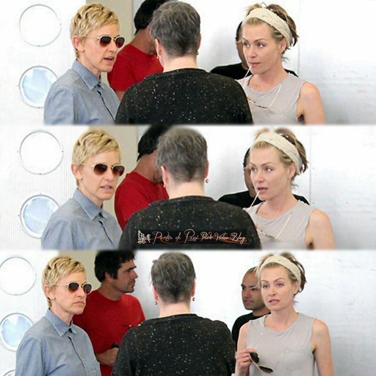 Portia De Rossi Wedding Hair: 77 Best Ideas About Ellen & Portia On Pinterest