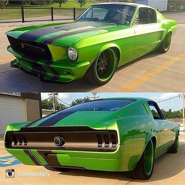 Blown Coyote in a '67 Mustang                              …