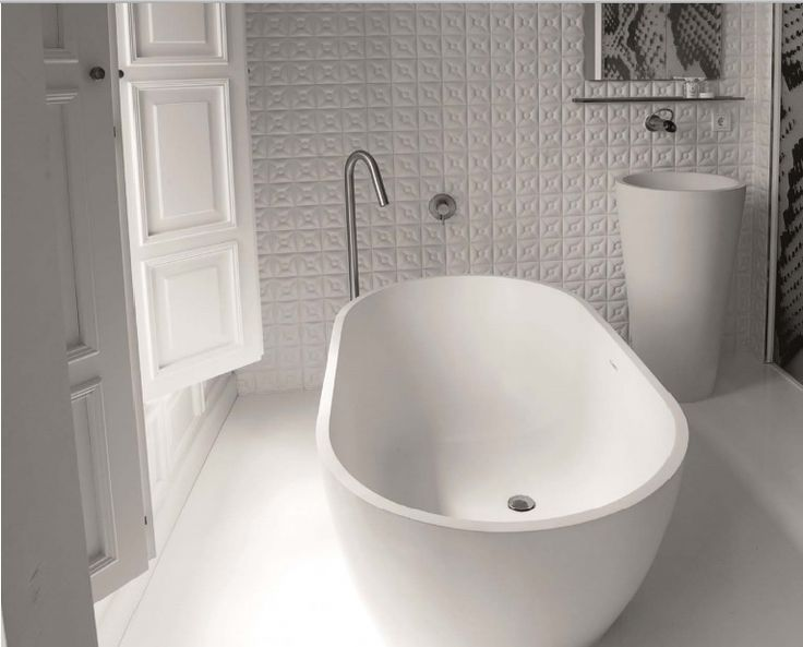 Dado bath made from DADOquartz available through Retreat Design #bath #bathroom #luxury #design