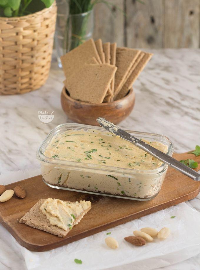 queijo vegano para barrar