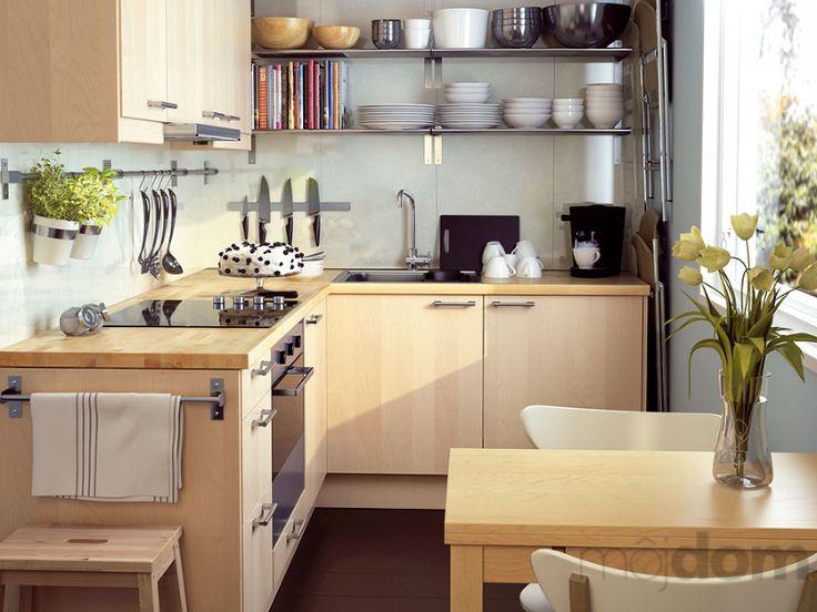 kuchyne do maleho bytu - Hľadať Googlom   Ikea kleine ...
