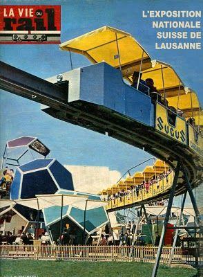 """Laurent ANTOINE """"LeMog"""" - World Expo Consultant: du monorail de Lausanne 1964 au minirail de Montréal 1967"""