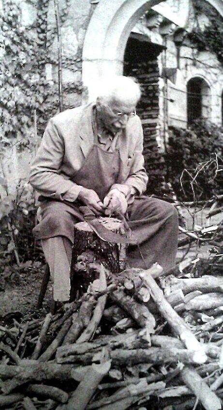 Carl Jung Chopping Wood