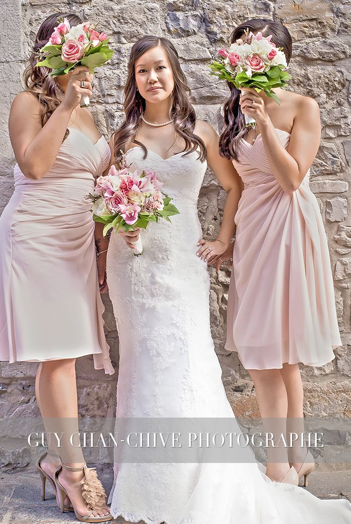 Wedding-Bride and bridemates