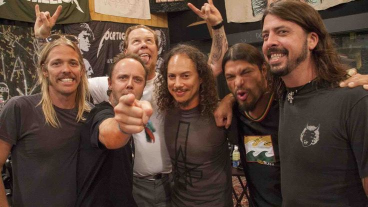 metallica & foo fighters