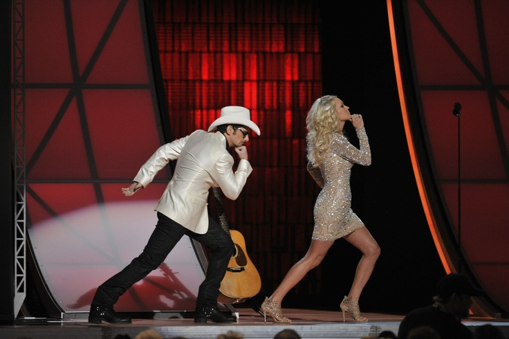 Your 2012 hosts Carrie Underwood and Brad Paisley!