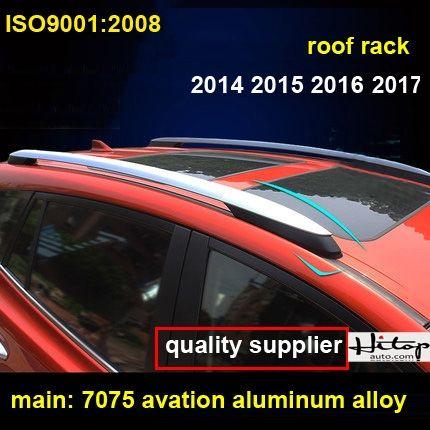 for Toyota RAV4 2009-2012 or 2014-2016 OEM roof rack roof rail bar,aviation aluminum alloy,old RAV4 or new RAV4,quality supplier