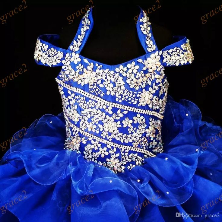 International Glitz Girls Pageant Dresses 2017 with Halter Neck And Ruffled Skirt Real Photos Royal Blue Ritzee Toddler Pageant Dress Infant Pageant Dresses Little Girls Pageant Dresses Baby Pageant Dresses Online with $122.29/Piece on Grace2's Store | DHgate.com