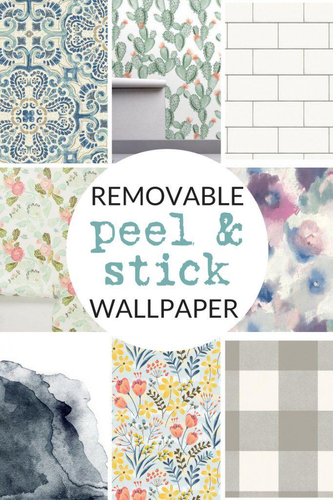 Temporary Wallpaper Shopping Guide Temporary Wallpaper Farmhouse Wallpaper Kitchen Wallpaper