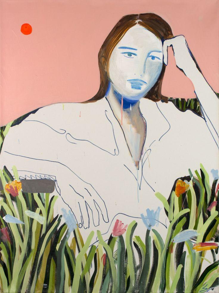 Erin Armstrong, Modern Portraits, Art Poses, Canadian Artists, People Art, Canvas Artwork, Portrait Art, Figure Painting, Figurative Art