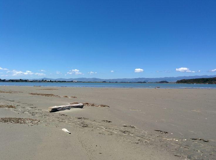 Foxton Beach in Foxton Beach, Manawatu-Wanganui- nice walk, swim, fishing, whit baiting