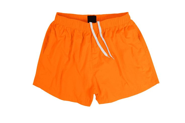 Sundayrose Men's Running Shorts Quick Dry Gym Training Shorts with Pockets Orange Yellow - Size S. 100% nylon, lightweight and quick drying. Solid pattern shorts will never out of fashion. Elastic waistband, comfortable and easy to wear. 2 Pockets on each side, convenient for you to carry key, phone or other little things when you go outside. 100% Money back guarantee. Just return it if you are not satisfied with our products.
