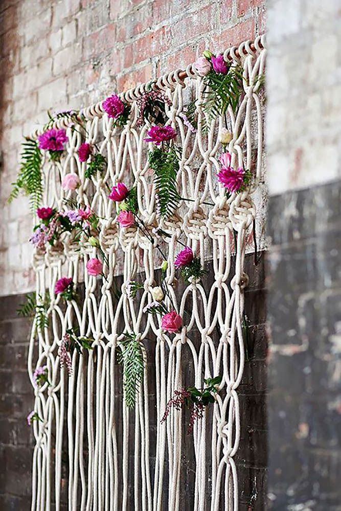 30 Wedding Backdrop Ideas For Ceremony, Reception & More ❤ See more: http://www.weddingforward.com/wedding-backdrop-ideas/ #weddings #ideas