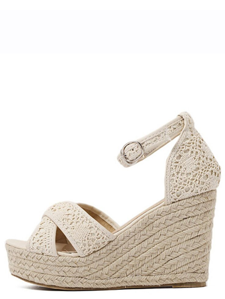 Colombe Gris Carina C Coin Espadrilles Castaner