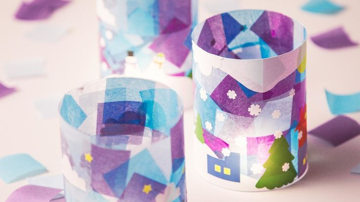 Make your home feel extra cozy with these beautiful homemade luminaries. It's a great craft for kids, and an activity the whole family can enjoy together.